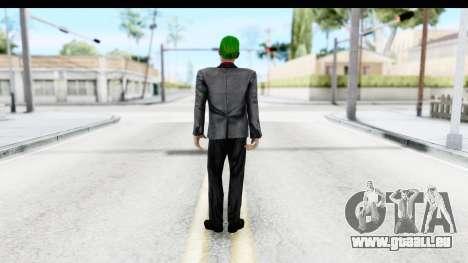 Suicide Squad - Joker v2 pour GTA San Andreas troisième écran