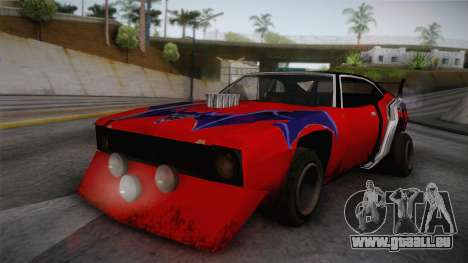 Ford Falcon 1972 Red Bat für GTA San Andreas