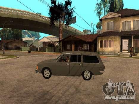 GAS-31022 für GTA San Andreas zurück linke Ansicht