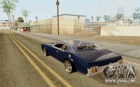 HD Sabre Greedy pour GTA San Andreas laissé vue