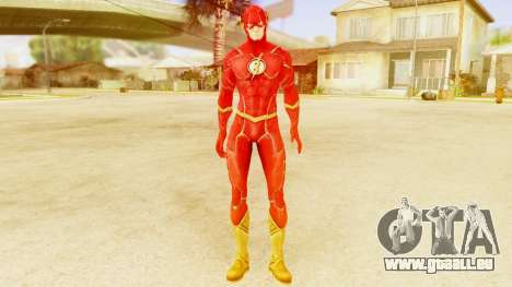 Injustice God Among Us Flash New 52 Edited Model pour GTA San Andreas deuxième écran