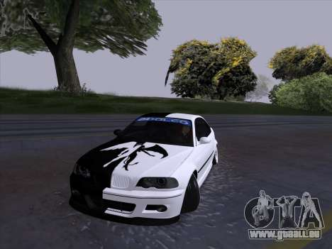 BMW E46 Good and Evil pour GTA San Andreas