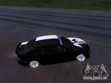 BMW E46 Good and Evil pour GTA San Andreas vue intérieure