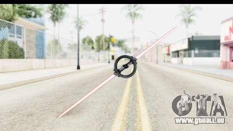 Inquisitor Lightsaber v3 pour GTA San Andreas deuxième écran