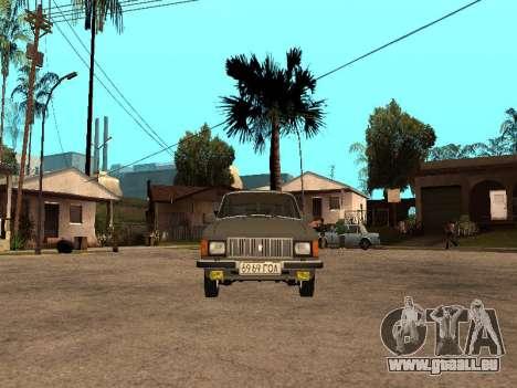 GAZ 31022 pour GTA San Andreas laissé vue