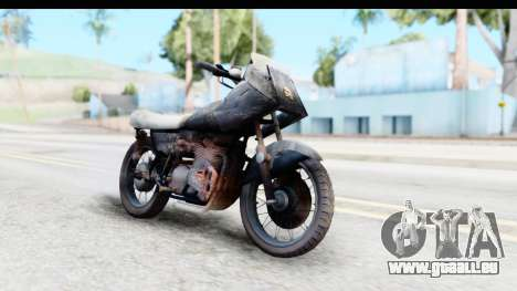 Kawasaki KZ900 1973 Mad Max 2 für GTA San Andreas rechten Ansicht