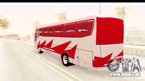 Smaga Bus für GTA San Andreas linke Ansicht
