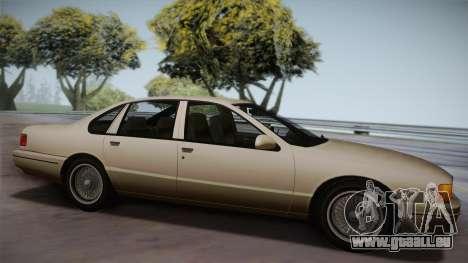 Declasse Premier 1992 SA Style für GTA San Andreas linke Ansicht
