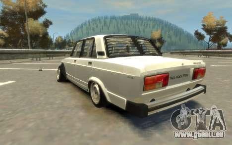 VAZ 2105 Drift (Paul Black prod.) pour GTA 4 est une gauche