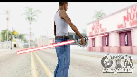 Inquisitor Lightsaber v1 pour GTA San Andreas troisième écran