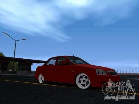 VAZ 2170 STANCE für GTA San Andreas linke Ansicht