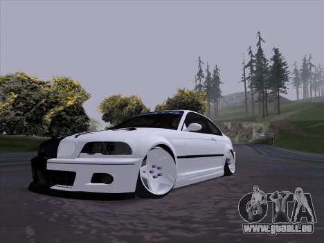 BMW E46 Good and Evil für GTA San Andreas linke Ansicht