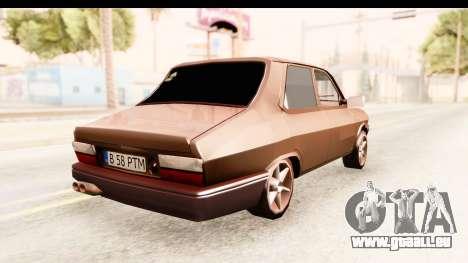 Dacia 1310 PTM pour GTA San Andreas sur la vue arrière gauche