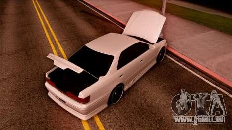 Toyota Mark II pour GTA San Andreas vue de droite