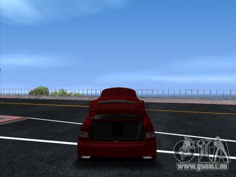 VAZ 2170 STANCE für GTA San Andreas Rückansicht