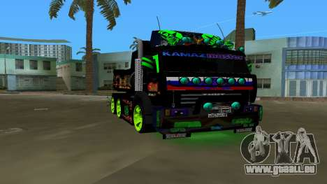 KAMAZ 65115 TUNING pour GTA Vice City