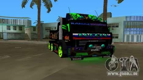 KAMAZ 65115 TUNING pour GTA Vice City