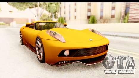 Lucra L148 2016 pour GTA San Andreas sur la vue arrière gauche