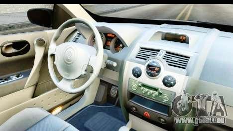 Renault Megane 2 Sedan 2003 v2 für GTA San Andreas Innenansicht