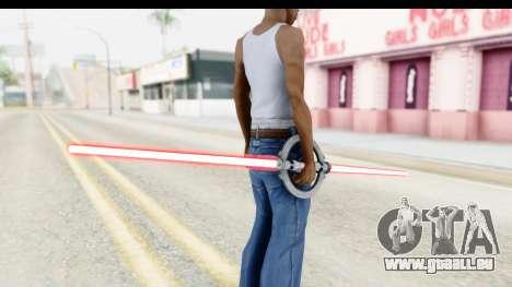 Inquisitor Lightsaber v1 für GTA San Andreas zweiten Screenshot