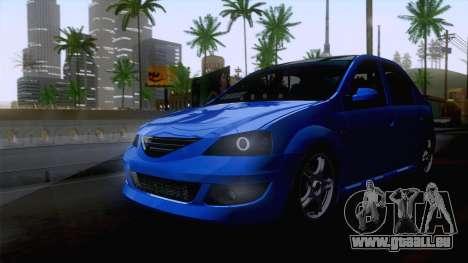 Dacia Logan Cocalar Edition pour GTA San Andreas vue de droite