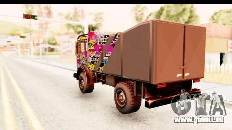 Sticker Bomb Dune für GTA San Andreas linke Ansicht