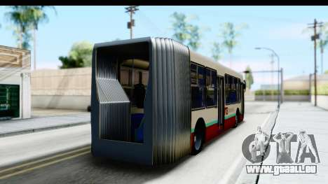 Metrobus de la Ciudad de Mexico pour GTA San Andreas laissé vue