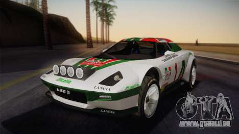 Lancia Stratos für GTA San Andreas