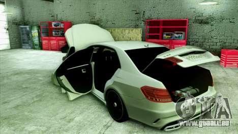 Mercedes-Benz E63 v.2 für GTA San Andreas Räder
