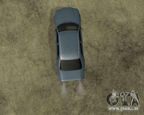 Mersedes-Benz E-500 Armenian für GTA San Andreas Rückansicht