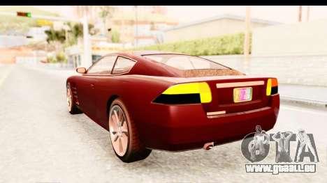 GTA EFLC TBoGT F620 v2 IVF pour GTA San Andreas laissé vue