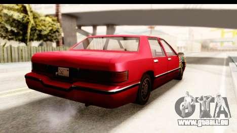 Elegant Sticker Bomb pour GTA San Andreas laissé vue