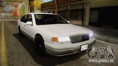 Willard Elegant IVF für GTA San Andreas