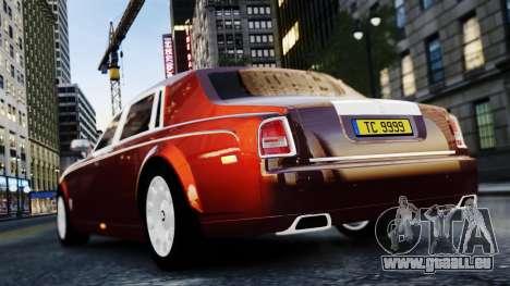 Rolls-Royce Phantom EWB 2013 pour GTA 4 est un droit