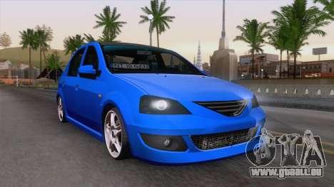 Dacia Logan Cocalar Edition pour GTA San Andreas vue arrière