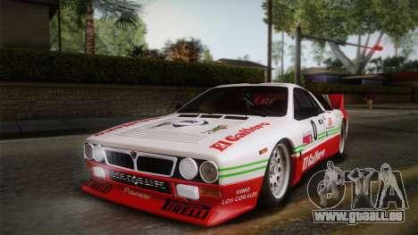 Lancia Rally 037 Stradale (SE037) 1982 IVF Dirt1 für GTA San Andreas Räder