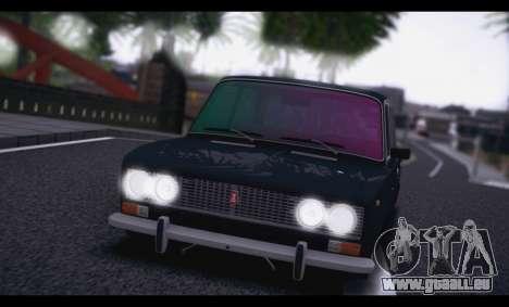 VAZ 2103 Rétro pour GTA San Andreas sur la vue arrière gauche