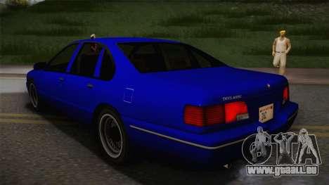 Declasse Premier 1992 IVF für GTA San Andreas linke Ansicht