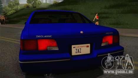 Declasse Premier 1992 IVF für GTA San Andreas rechten Ansicht