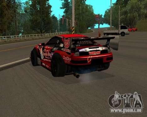 D1GP Toyota Supra Hadaka Supra JZA80 pour GTA San Andreas laissé vue