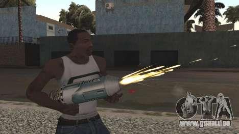 Spudgun from Bully SE pour GTA San Andreas troisième écran