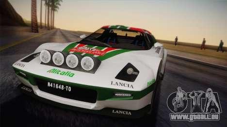 Lancia Stratos für GTA San Andreas rechten Ansicht
