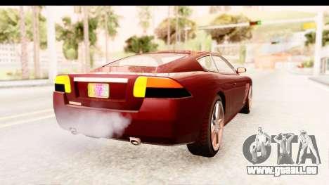 GTA EFLC TBoGT F620 v2 IVF pour GTA San Andreas vue de droite