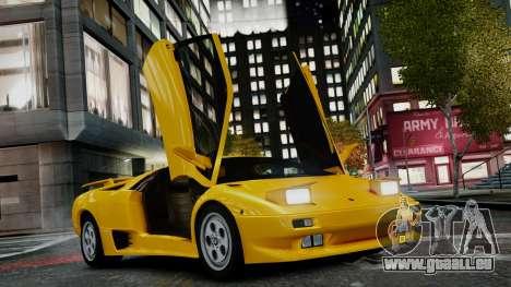 Lamborghini Diablo VT 1990 pour GTA 4