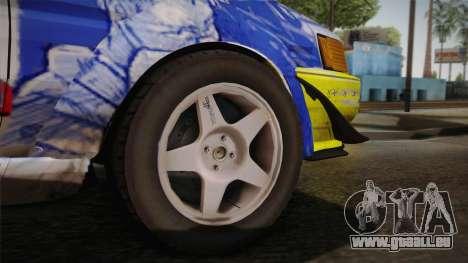 Toyota AE86 2 Door Levin pour GTA San Andreas vue arrière