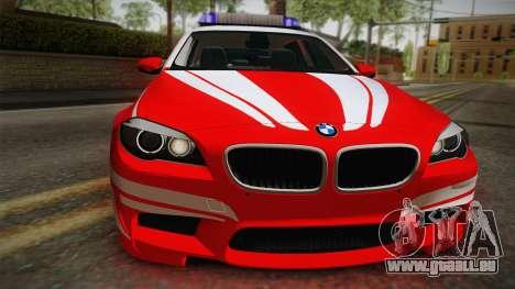 BMW M5 Touring NEF pour GTA San Andreas vue de droite