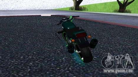 Jawa 350 638 Sports für GTA San Andreas zurück linke Ansicht