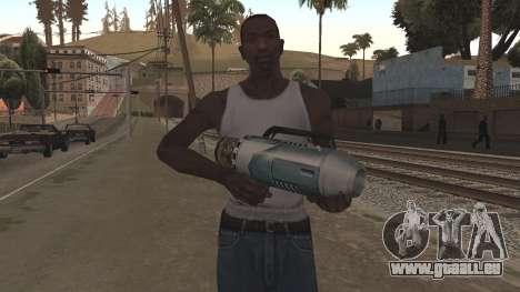 Spudgun from Bully SE pour GTA San Andreas deuxième écran