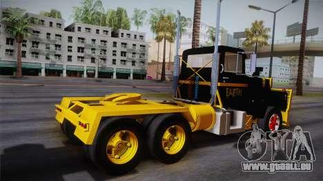 Mack R600 v1 pour GTA San Andreas laissé vue