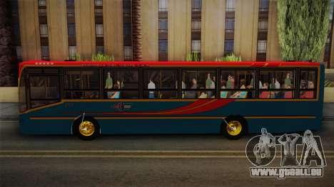 Nuovobus MB OF1418 Linea 302 pour GTA San Andreas sur la vue arrière gauche